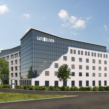 """thumbnail LC veräußert Büroimmobilie """"GATE ELEVEN"""" in Stuttgart an Wealthcap"""