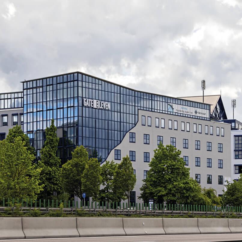 Stuttgart – Leinfelden Bürogebäude